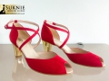buty ślubne ze słotym obcasem