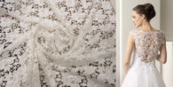 koronka na suknie ślubne