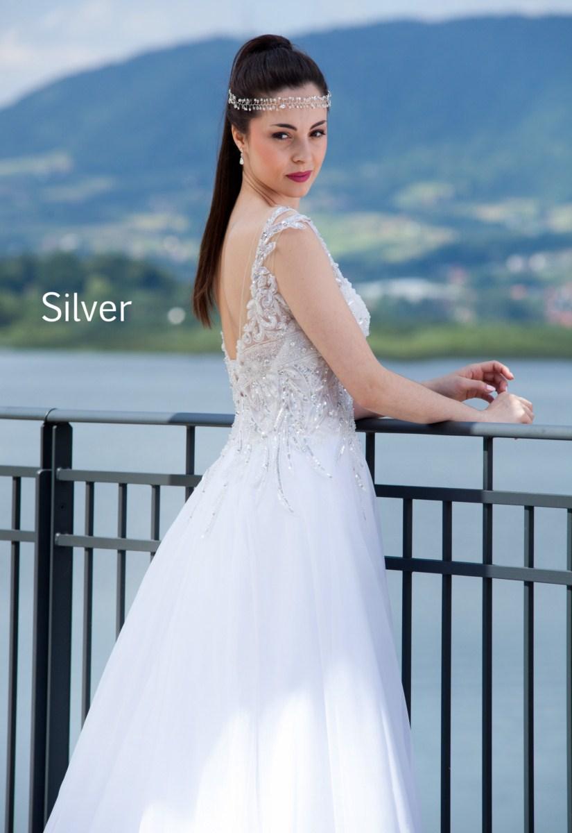 suknia slubna estera Silver