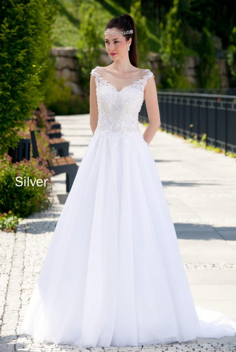 suknia slubna estera Silver1