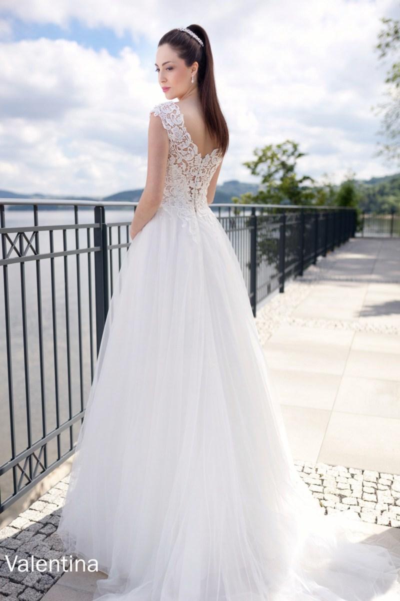 suknia slubna estera Valentina tyl