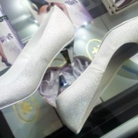 srebrne buty do ślubu sosnowiec